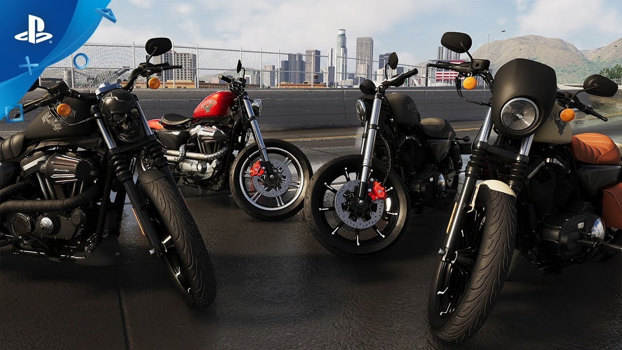 The Crew 2 Races to PS4 June 29, First Look at the Harley Davidson Iron 883