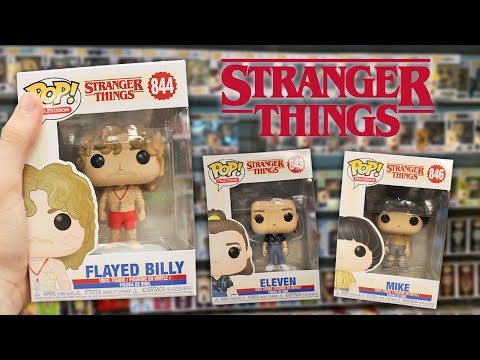 Stranger Things Season 3 Spoilers Funko Pop Hunting!
