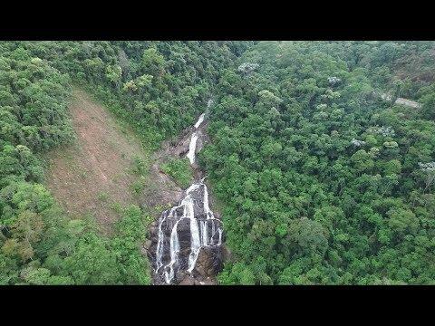 Cachoeira - Estrada Santa Rita de Jacutinga - Passa Vinte