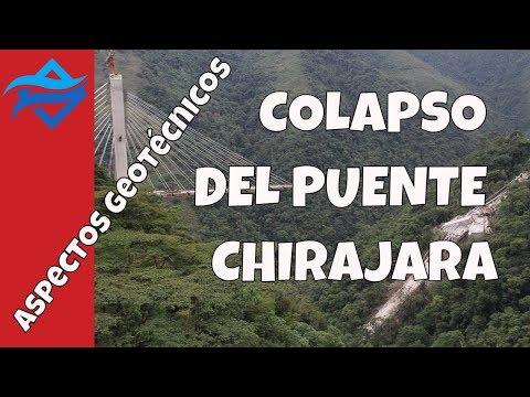 Colapso Puente Chirajara | aspectos geotécnicos del mecanismo de falla