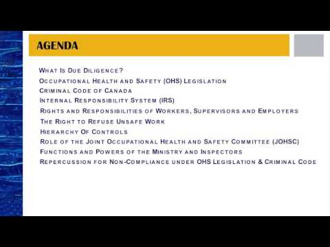Due Diligence Awareness Online Course Preview - YouTube