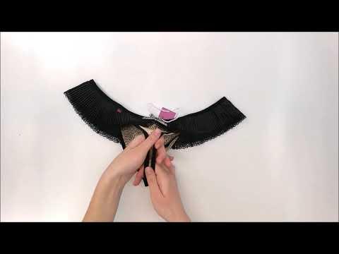 Kalhotky 826-THC crotchless thong - Obsessive