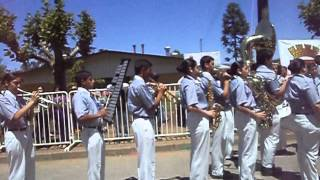 preview picture of video 'Desfile en Honor al Santo patrono  Banda Del Liceo Politécnico, San Carlos'