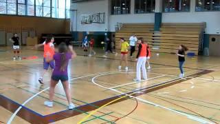 Skupni treningi na gimnaziji