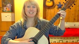 Klidná jako voda - ukázka lekce kytary