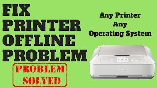 Fix Printer Offline Problem
