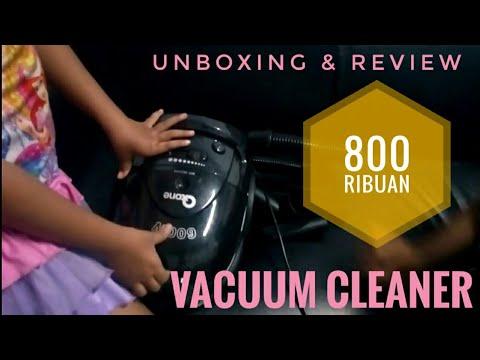 unboxing vacuum cleaner murah 800 ribuan