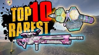 TOP 10 RAREST ITEMS IN BORDERLANDS 2 - NEW #1