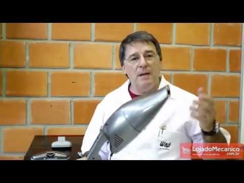 Aspirador de Pó Poptech Prata olts - Video