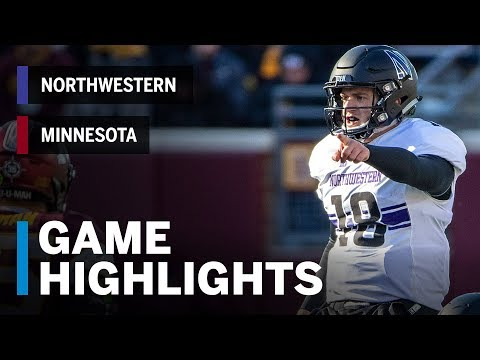 Highlights: Northwestern At Minnesota | Big Ten Football Mp3