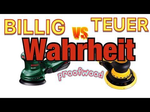 BILLIG  vs. TEUER ; Endlich die Wahrheit , PROFI vs. HEIMWERKER ;