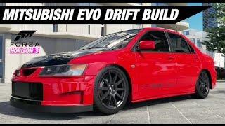 Mitsubishi Evo VIII Drift Build - Forza Horizon 3