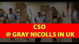 #CSO @ Gray Nicolls In UK Cricket Bat Review | Cricket Store Online