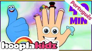 Polegares E Mais Músicas Para Crianças   Músicas Infantis Compiladas   HooplaKidz Brasil