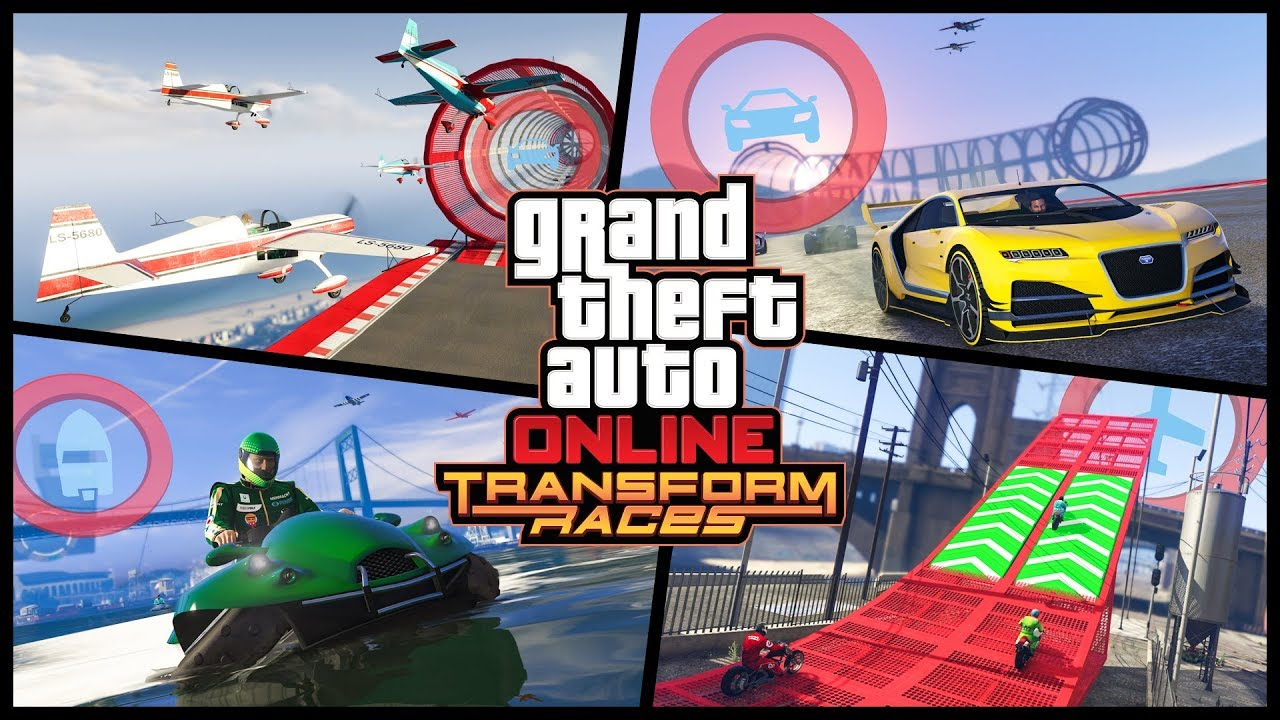 GTA Online - Transform Races Trailer - System Requirements