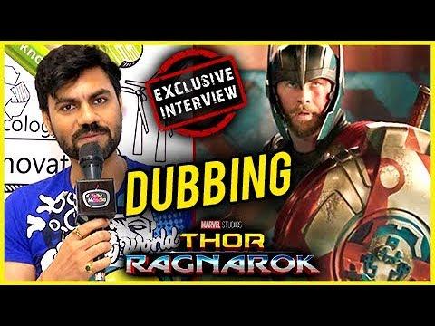 Gaurav Chopra Talks About DUBBING For 'Thor Ragnar