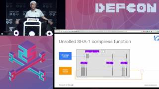 DEF CON 25 -  Elie Bursztein - How We Created the First SHA 1 Collision
