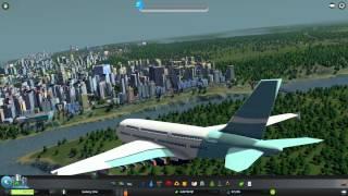 Cities: Skylines #27 - Моды: Авиа симулятор (Flight Cimulator)