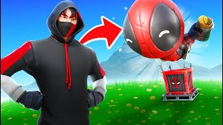 The SUPPLY DROP *ONLY* Challenge In Fortnite!