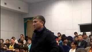Жанат Есентаев выразил обеспокоенность о судьбе земель Казахстана