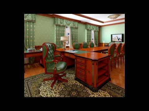 Шторы в дизайне офиса и кабинета