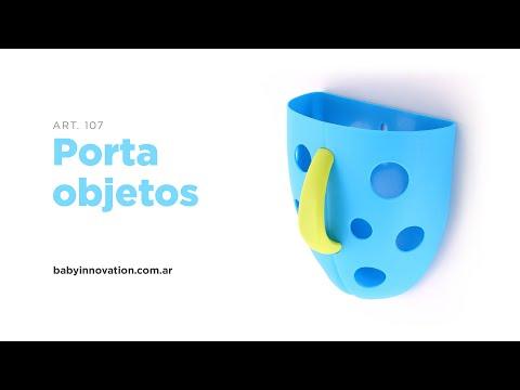 Porta objetos con sopapa Baby Innovation Verde video