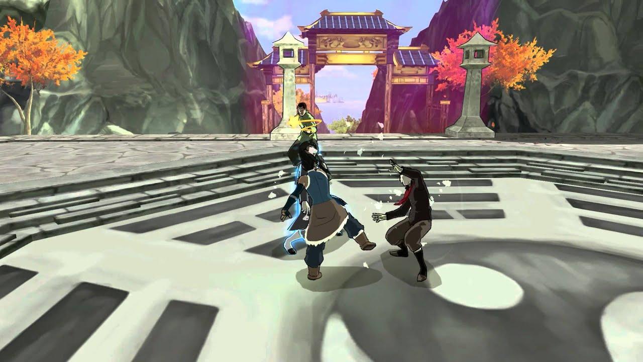 Nouvelle vidéo des coulisses de La Légende de Korra chez PlatinumGames