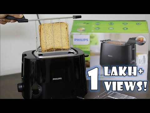 Philips Toaster HD2583/90 Un-boxing and Review | 2 in 1 Toaster and Grill | How to Use a Toaster