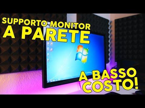 Supporto Monitor a Parete A BASSO COSTO!