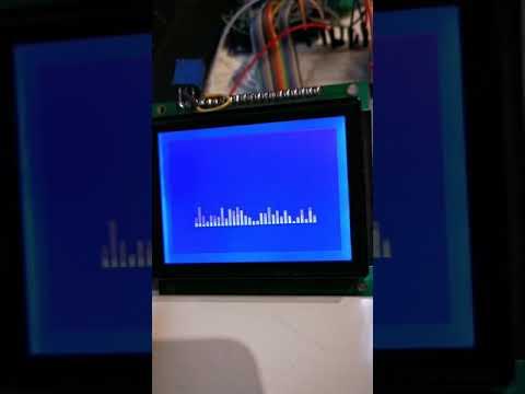 Tech Note 076 - ESP8266/ESP32 Audio Spectrum Analyser using FFT