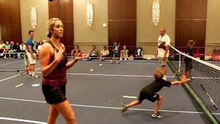 Tennis Caution Tape video