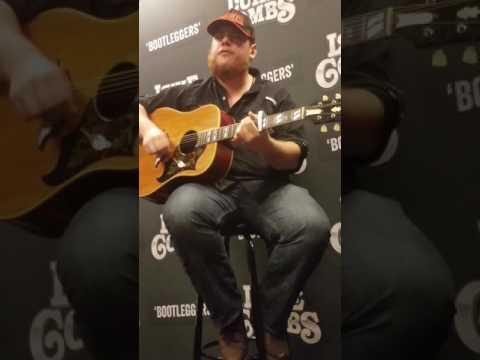 "Luke Combs Acoustic ""Beautiful Crazy"""