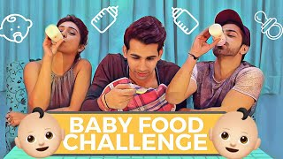 BABY FOOD Challenge | Rimorav Vlogs