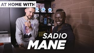 At home with... Sadio Mane | Guided tour, THAT Everton goal and more with