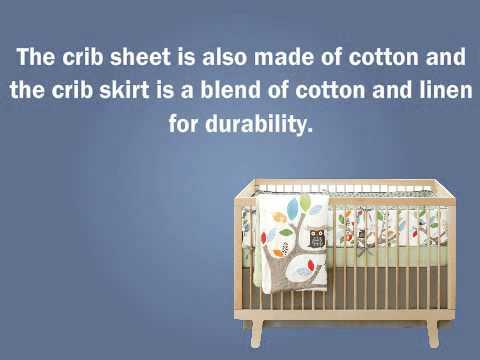 skip hop 4 piece crib bedding set treetop friends for. Black Bedroom Furniture Sets. Home Design Ideas