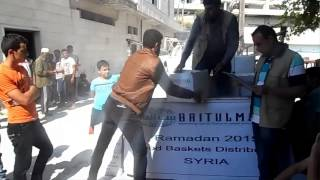Baitulmaal Humanitarian Aid Distribution in Syria