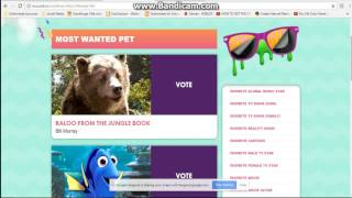 Nickelodeon Kids Choice Awards 2017 Voting