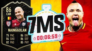 THE BEST CM ON THE GAME!! 86 SIF NAINGGOLAN 7 MINUTE SQUAD BUILDER!! - FIFA 20 ULTIMATE TEAM