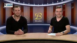 Studio B se zápasníkem MMA Václavem Mikuláškem
