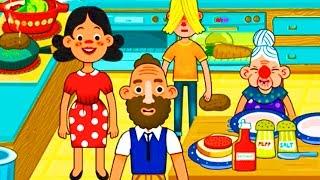 Играем в СЕМЕЙНЫЙ ДОМИК PEPI HOUSE часть#1 ВИДЕО ДЛЯ ДЕТЕЙ Семейная игра как мультик развлекательная