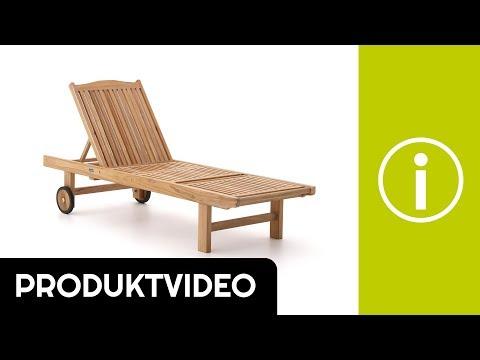 Produktvideo Sunyard Veronica Gartenliege mit Rad | Kees Smit Gartenmöbel