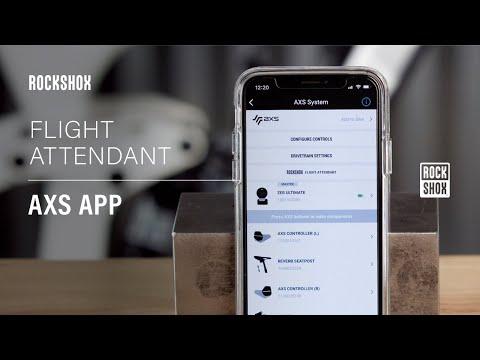 RockShox Flight Attendant: AXS App