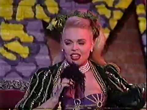 """Army of Lovers live on TV March 1992 """"Crucified"""""""
