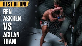 ONE: Best Fights | Ben Askren vs. Agilan Thani | Impeccable Grappling | May 2017