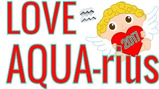 AQUARIUS  LOVE 2017 😍 YEAR PREVIEW 😍 Twin Flame SOULMATE Tarot & Astrology Reading with Crystals