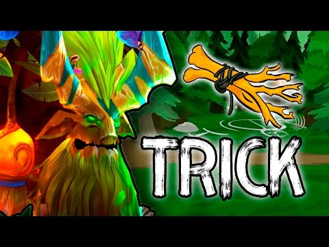 Dota 2 Tricks: Magic Iron Branch!