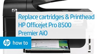 Replacing a Cartridge on the HP OfficeJet 4650 Printer | HP