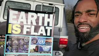 Check Out My Flat Earth Activism Banner