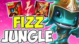 NOBODY PLAYS THIS?!?! Fizz AP One-Shot Jungle Build League Of Legends Sesaon 9