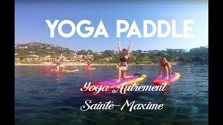 Le yoga paddle ! Est-ce vraiment du yoga ?